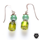 Sparkle_earrings_lime_green_czech_glow