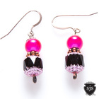 Sparkle_earrings_pink_blk_czech_glow