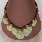 Necklace___earrings_set__green_petal_leaf_with_red_berries_003
